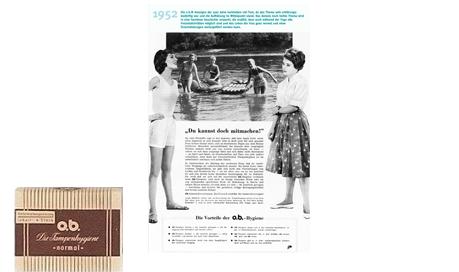 o.b.® tampons - Pionerår for o.b.® (1952)