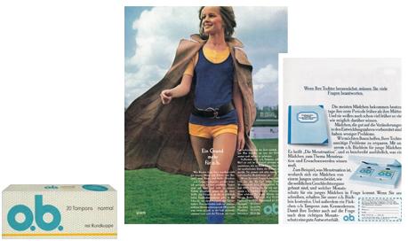 """o.b.® tampons - o.b.® udvikler tamponen """"Mini"""" (1972)"""