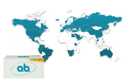 o.b.® fylder 40 og fejrer, at man nu har solgt over 50 milliarder tamponer på verdensplan.