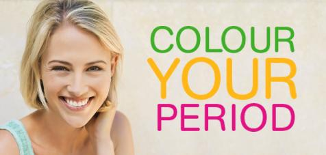 COLOUR YOUR PERIOD!