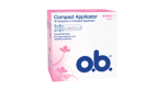 o.b.® Compact Applicator Super fra o.b.® tampons Denmark